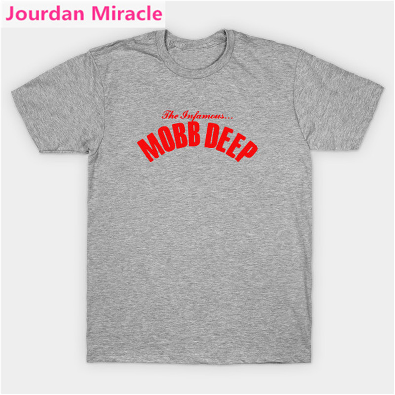 Mobb Deep - Infamous <font><b>T</b></font>-<font><b>Shirt</b></font> Hip-Hop <font><b>MC</b></font> <font><b>T</b></font> <font><b>Shirt</b></font> Havoc Prodigy Hip Hop Rap Cotton <font><b>T</b></font> <font><b>Shirt</b></font> For Men'S Printed Men <font><b>T</b></font>-<font><b>Shirt</b></font> Clothes image
