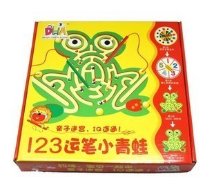 Brush Labyrinth Series 123 table games frog labyrinth maze intelligence