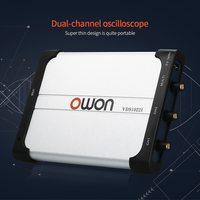 VDS1022I двухканальный осциллограф осциллографы для ПК Очки виртуальной USB осциллограф 25 МГц полоса пропускания 100 м/с частота дискретизации