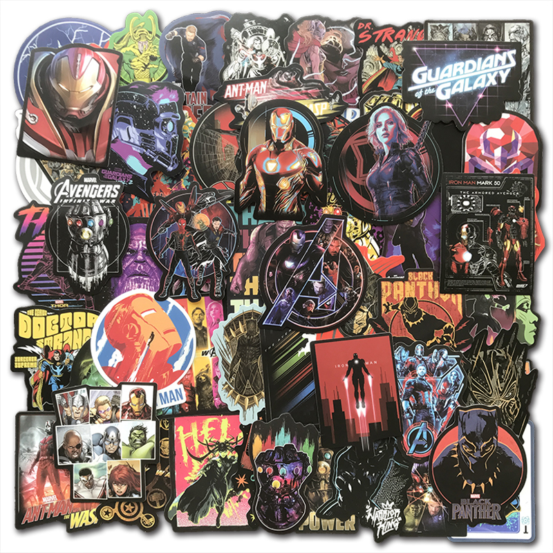 Marvel Avengers Boy/'s Graphic Composition Notebook With Notepad /& Stickers NEW