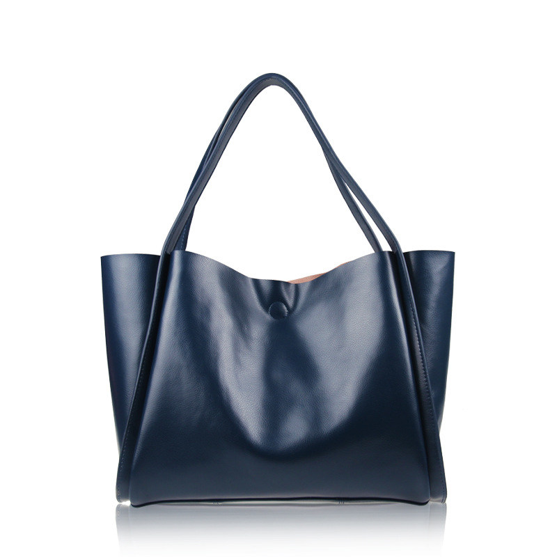 New 2017 genuine leather Women handbag famous brand fashion Shoulder Bag Cowhide Casual Lady Tote High capacity shopping big bag genuine leather women handbag famous brand lady casual tote big capacity fashion shouder bag vintage cow leather women bags 2017