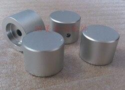 Diámetro 30mm, alto 22mm, amplificador de potencia de aleación de aluminio perilla sólida/botón de potenciómetro de volumen, perilla amplificadora de Audio HIFI
