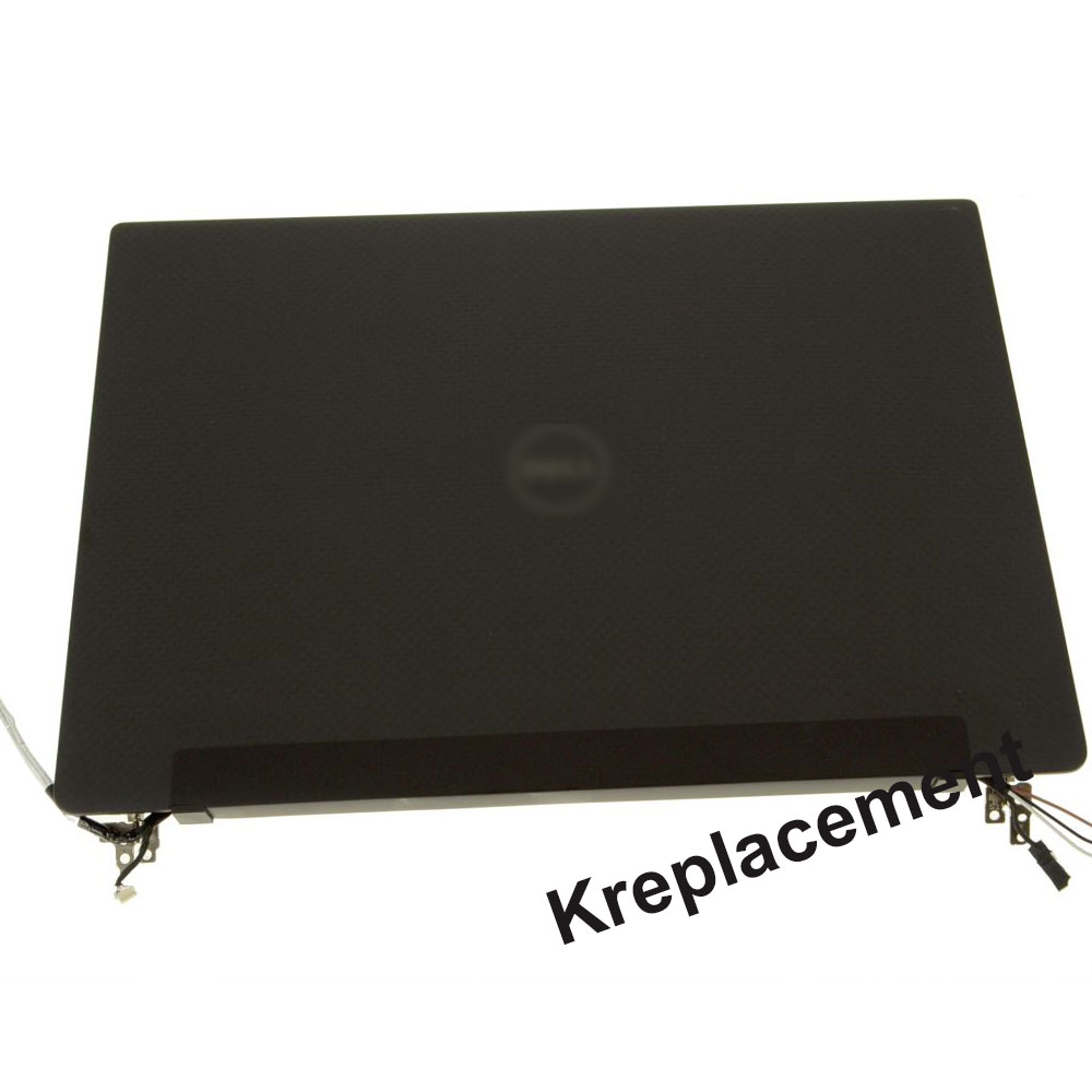 3200x1800 QHD+ FHD For Dell Latitude 13 7370  Full LED LCD Touch Screen Display Complete Assembly (With Touch)-Black