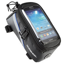 Roswheel Ciclismo Mountain Bike Sella 5.5 Pollice Gps Sacchetto Del Pacchetto Del Telefono Cellulare Touch Screen Rainproof Bag цена
