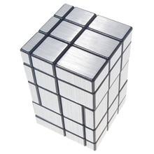Новинка года 3x3x5 Соединенные зеркальный волшебный куб черный, серебристый цвет развивающие игрушки специальные игрушечные лошадки