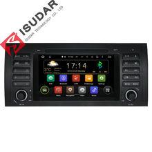 Android 5.1.1! 7 Cal W Desce Rozdzielczej Samochodu Odtwarzacz DVD Multimedia Dla BMW/E39/X5/M5/E38/E53 z Canbus Wifi GPS Navigation Radio FM