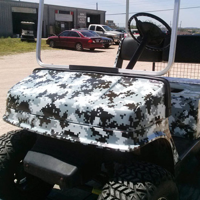 online shop black white digital camouflage vinyl car wrap military