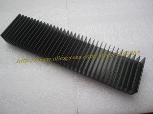 Image 3 - 1 pçs 245mm + 60mm 25mm de alumínio completo e dissipador calor para amplificador potência diy radiador