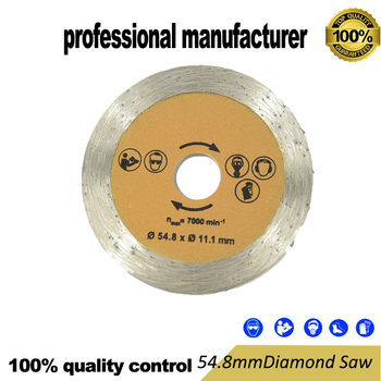 цена на 54.8mm diamond saw blade for mini hand saw tools for tile stone steel and marble cutting at good price and fast delivery