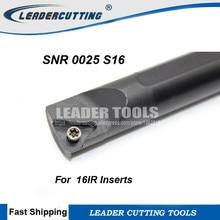 Utensile tornio SNR0013M16-16 Indexable Thread Tool Holder Lathe For 16IR//16NR