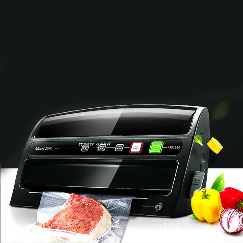 Glantop Vacuum Sealer Food Saver Storage Packaging Machine dhl ems food saver v3240 vacuum sealer a1