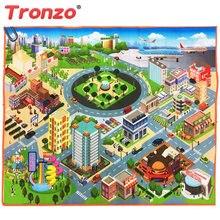 Tronzo 70 70cm Or 125 95cm Baby Traffic Play Mat City Road Carpets