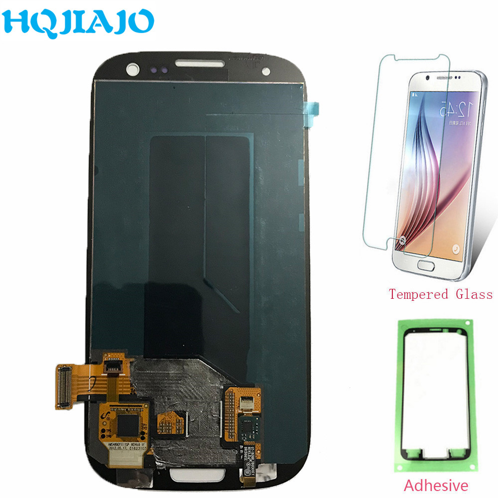 Super Amoled LCD Screen For Samsung S3 i9300 LCD Display Touch Screen Digitizer For Samsung Galaxy