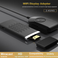 HFLY 5G enhance signal google chromecast3 tv stick WIFI HDMI adapter dual Cortex A9, tv stick android Mirascreen airplay dln IOS