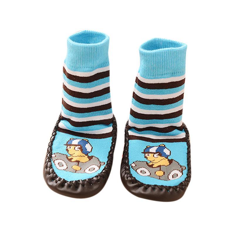 ФОТО sif cartoon kids toddler baby anti-slip sock shoes boots slipper socks mar 07