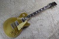 Free shipping 2017 musical instrument L standard guitar p90 pickup custom 1956 slash goldtop electric guitar 140424