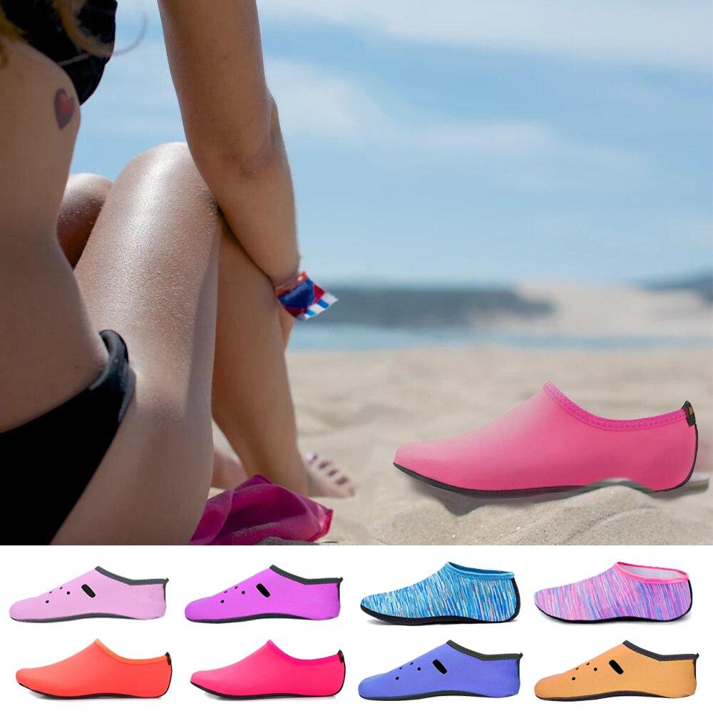 Beach Shoes Sock Quick Drainage Summer Water Shoes For Women Men Reef Fishing Aqua Upstream Sea Bath Swimming Barefoot Sneakers