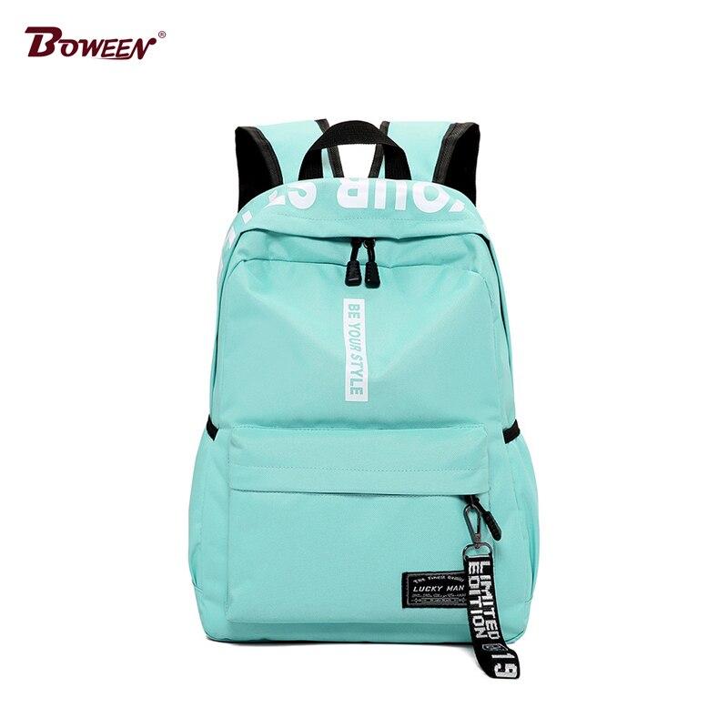 School Bags For Teenage Girls 2020 Student BagPack Black Teens Men Women Backpack Schoolbag Female Back Pack
