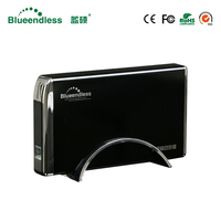 Tool Free Hot Plug Without Drive SATA I II III External Hard Drive Case Usb 3