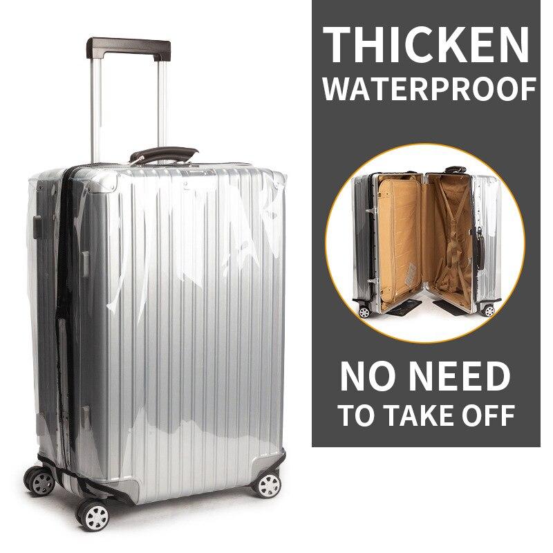 Housse de protection en PVC pour valise étanche housse de protection anti-poussière pas besoin de décoller 20