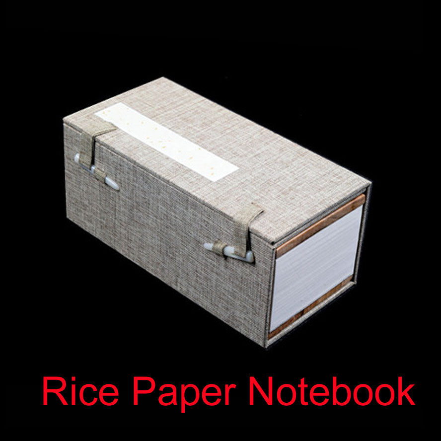 Chinese Traditional Rice Paper Album Notebook for Painting Calligraphy Stamp Seal Artist collect art curiosities Best Gift 4 pcs set traditional linen chinese album of painting calligraphy page notebook page 9