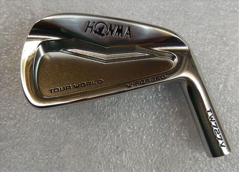 Playwell honma  727V  forged  carbon steel  with  CNC cavity  golf iron heads