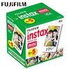 50 arkuszy Fujifilm Instax Mini 9 Film biała krawędź zdjęcie papiery do aparat polaroid Film Mini 8 7s 90 25 55 SP 2 aparat natychmiastowy