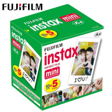 50 sheets Fujifilm Instax Mini 9 Film White Edge Photo Papers For Polaroid Camera Film Mini 8 7s 90 25 55 SP 2 Instant Camera