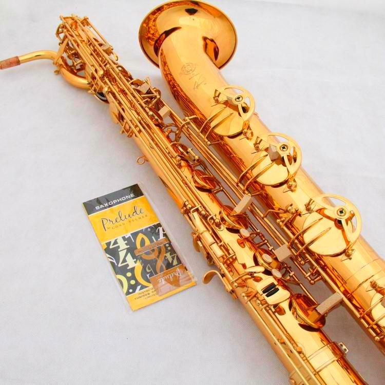 Free Shipping France Selmer Baritone Saxophon Gold 54 Professional Eb Mouthpiece Sax saxophone #60 tenor saxophone free shipping selmer instrument saxophone wire drawing bronze copper 54 professional b mouthpiece sax saxophone
