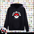 New Anime Game pokemon go hoodie Pikachu Coat Fashion Men Women Sweatshirts
