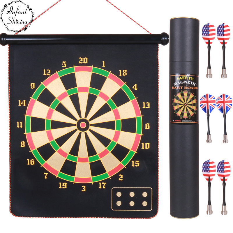 inch Double Magnetic Dartboard Child Safety Standard Adult Professional Indoor Flying Disc