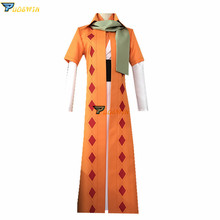 NEW Akatsuki no Yona COSplay Costume Yellow Dragon Warrior Zeno Cape Robe Suit Custom Made