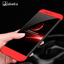 AKABEILA Cover Case For Huawei Nova 2 360 Degree Protector Matte PIC-AL00 Nova2 Shockproof Phone Shell