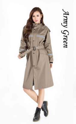 Long TrenchRaincoat5