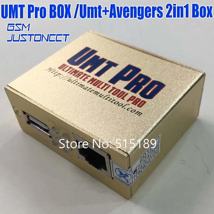 Gsmjustoncct date 100% d'origine UMT Pro boîte UMT + Avengers 2in1 boîte avec 1 USB câbles umt boîte - 6