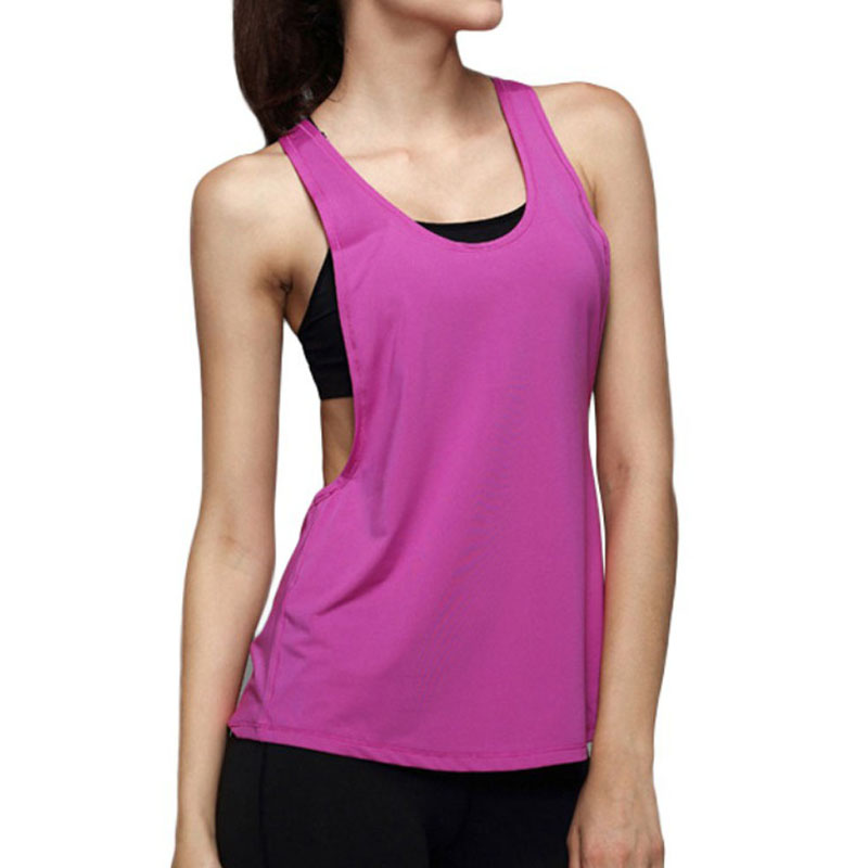 Women Loose Sports Fitness Vest Top Sleeveless Yoga Tank Tops T-Shirt
