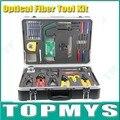 Frete Grátis via DHL kit de terminação de fibra Fibra Óptica Kit de Ferramentas Kit de Ferramentas De Terminação De Fibra Óptica Universal Para FTTx TM-OTK1