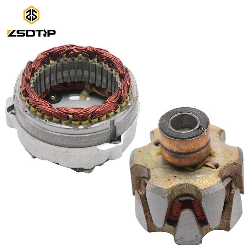 Bobine de Stator de magnéto de moteur de moto de ZSDTRP pour la bobine d'allumage de moteur magnétique de CJ-K750 d'oural