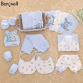2016 Winter Newborn Baby Girls & Boys Clothing Set Gift Sets Infant Thick Warm 16 Pieces/set 100% Cotton Underwear Suits