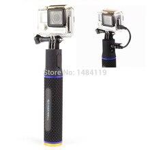 GOPROธนาคารอำนาจ5200มิลลิแอมป์ชั่วโมงแบตเตอรี่MonopodสำหรับGoproฮีโร่1/2/3 +/4สำหรับกีฬากล้องภายนอกชาร์จแบตเตอรี่สำรอง