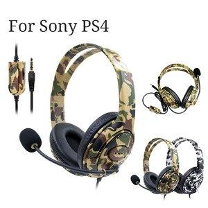 Горячая Распродажа, игровая гарнитура, 3,5 мм, Накладные наушники, микрофон для воспроизведения Sony PS4 для iPhone для Samsung