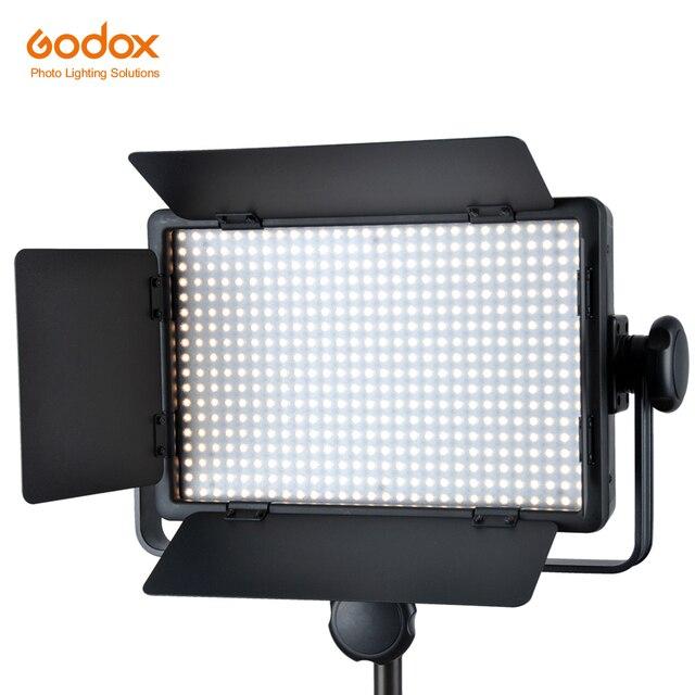 Godox LED500C 3300K 5600K Studio Video Light Lamp + Remote For Camera Camcorder