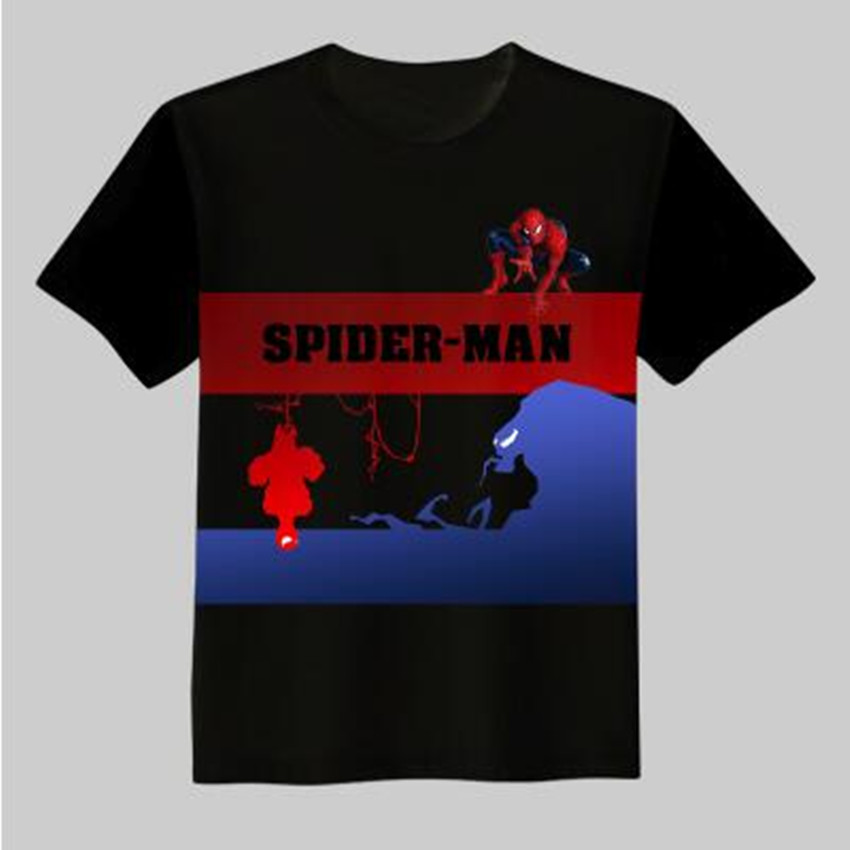 Esihou Woman Man Spiderman Homecoming Lovely Printing Custom Made T-shirt Tees