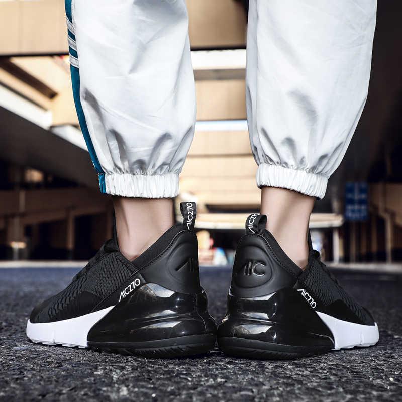 0ddcd8376c Casual scarpe da uomo 2019 maschio leggero scarpe da corsa traspirante  maglia degli uomini di sport scarpe da tennis piane calzature outdoor  estate ...