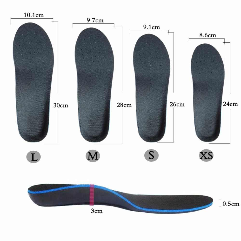 ที่ดีที่สุดวัสดุพรีเมี่ยม EVA พื้นรองเท้า Orthotic Arch รองรับสำหรับ FLAT Feet Orthotic หน่วยความจำรูปแบบพื้นรองเท้ารองเท้าศัลยกรรมกระดูก
