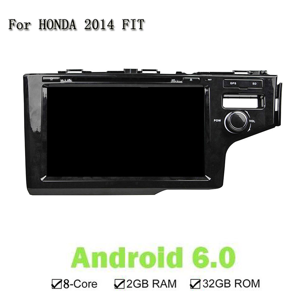 Octa 8 Core RAM 2G ROM 32G Android 6 0 For Honda 2014 FIT Car DVD