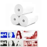 NEUE PAPERANG MEMOBIRD Farbe Druck Papier Drucken Anzeigen Blau Rot Schwarz 57*30 Thermische Foto Druck Papier 3 Bände senden