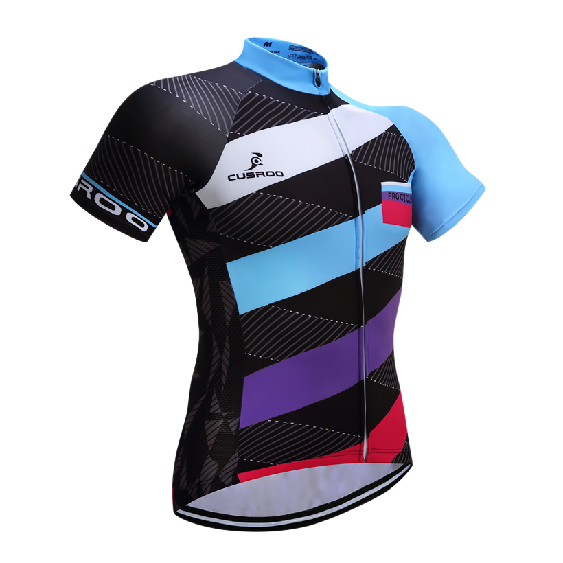 Cusroo Free Delivery Fast Dry Personalized Biking Jersey Change The Staff Biking Jersey Biking Clothes Breathable Sportswear