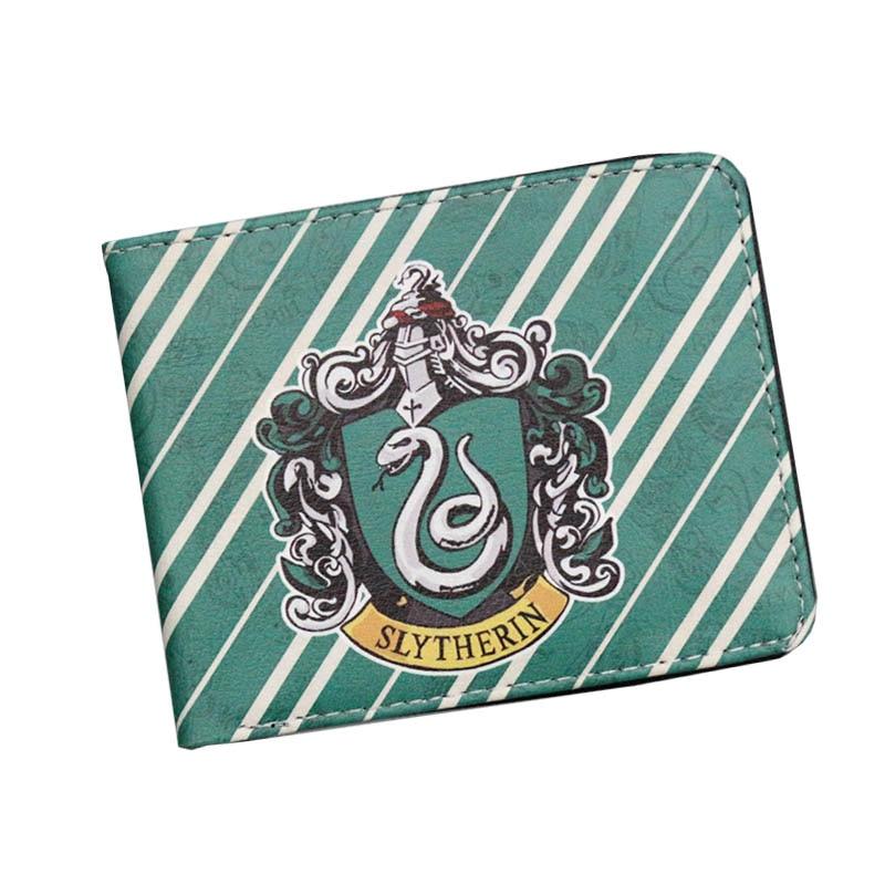 New Arrival Harry Potter Movie Anime Men Wallets Hogwarts Express Women Short Leather Purse Zipper Bags Money Coins Cards Holder