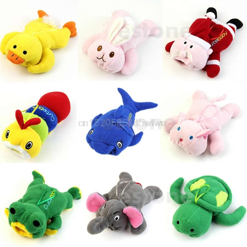 Cute Baby Feeding Bottle Plush Pouch Covers Nursing Keep Warm Holders Case #HC6U# Drop shipping